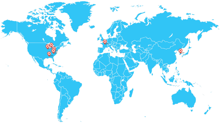 Global Partners Map